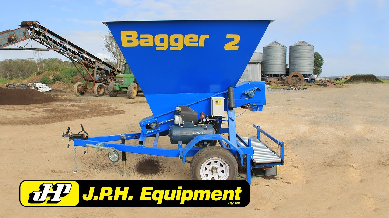 The Jph Equipment Bagger 2 Mobile Bagging Unit Youtube