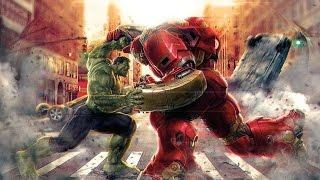 Hulk vs Homem de Ferro versão silvio