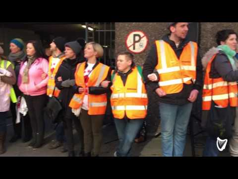 VIDEO: Defiant Apollo House residents to continue occupation