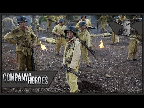 Chinese Wave Defense - Company of Heroes: Far East War Mod