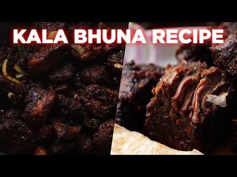 Mouthwatering Kala Bhuna