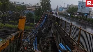 Footover Bridge Collapses At Andheri Railway Station In Mumbai; Rescue Operations Underway