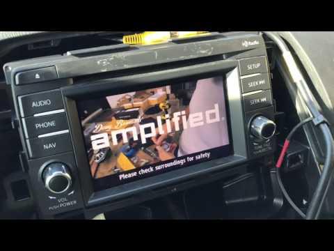 Mazda Cx 5 2015 2016 Install Rear Camera Backup Came