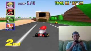 Buenoooo Chicos Gameplay Mario Kart N64 para vosotros