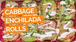 Cabbage Enchilada Rolls Recipe