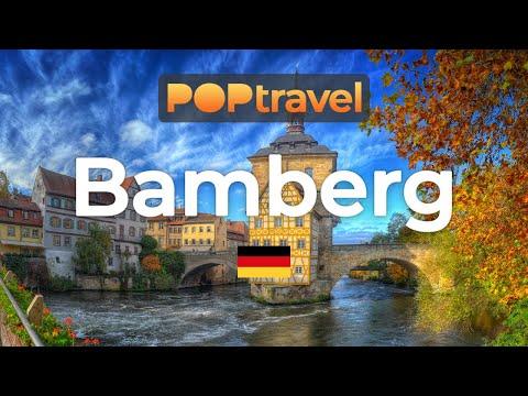 Walking in BAMBERG / Germany 🇩🇪- 4K 60fps (UHD)