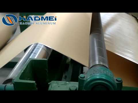 How To Combine Aluminum Foil And Kraft Paper Together -haomei Aluminium Foil Paper
