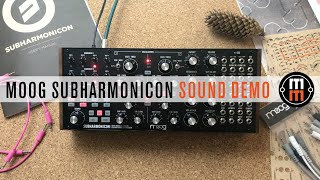 Moog Subharmonicon - только звук, ничего лишнего!