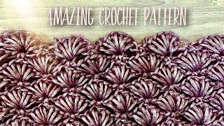 Вяжем КЛАССНЫЙ УЗОР КРЮЧКОМ / ГОТОВЫЙ СНУД / Amazing crochet pattern