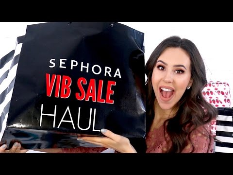 BIGGEST MAKEUP HAUL EVER || Sephora VIB Sale Haul 2017
