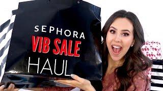 BIGGEST MAKEUP HAUL EVER || Sephora VIB Sale Haul 2017