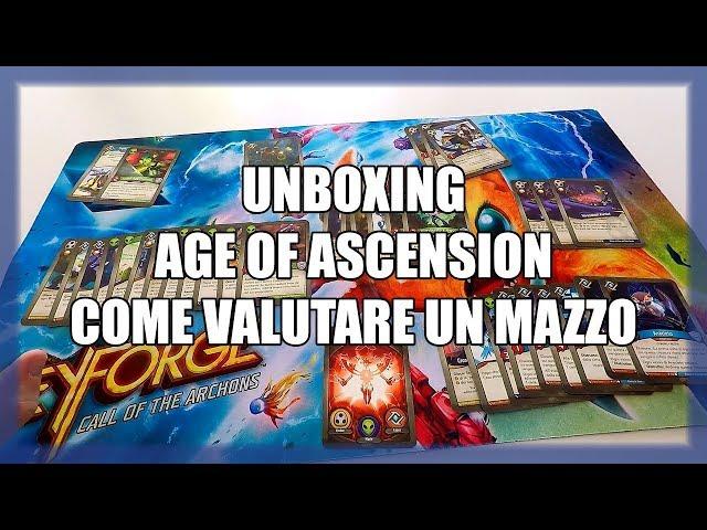 Come valutare un mazzo di Era dell'Ascensione? | Unboxing AoA #8 | Keyforge