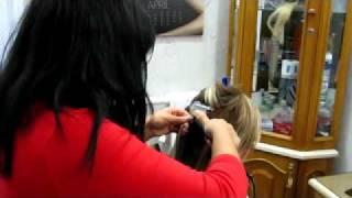 Салон Любава 50 % скидка на наращивание волос xvid