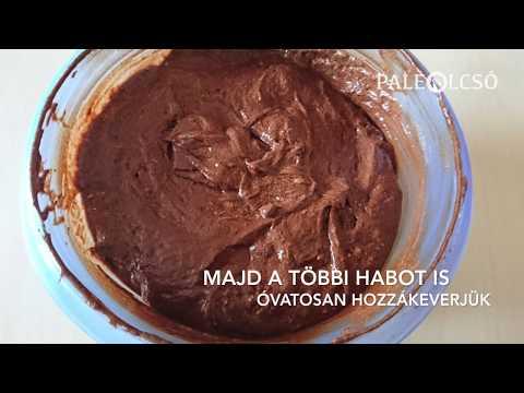 Csokis süti liszt nélkül