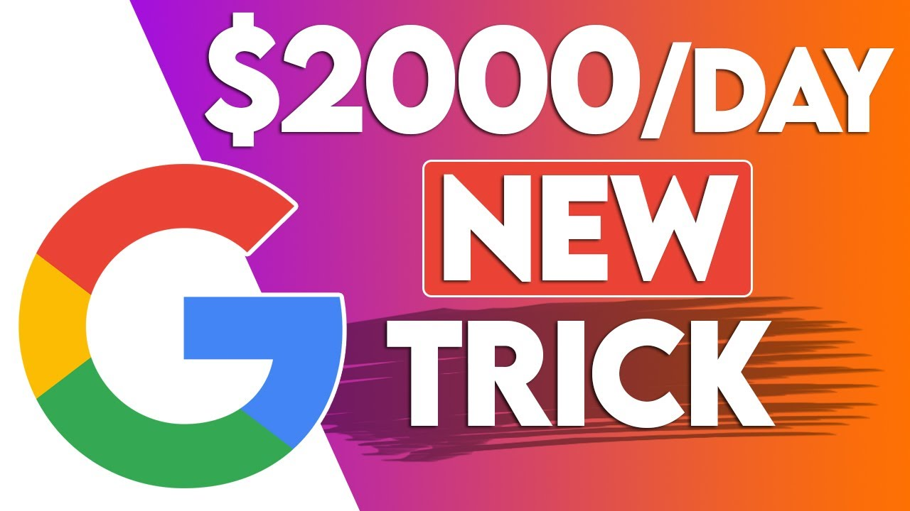 Earn $2,000 A Day Using Google (FREE) Make Money Online