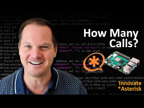 How Many Calls on Raspberry Pi with Asterisk PBX?