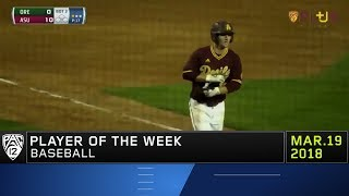 Arizona State's Gage Canning named Pac-12 Baseball Player of the Week