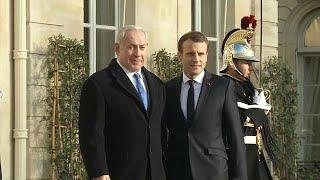 Нетаньяху ждет от Макрона 'уважения'