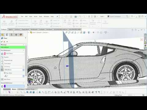SolidWorks Nissan 370Z