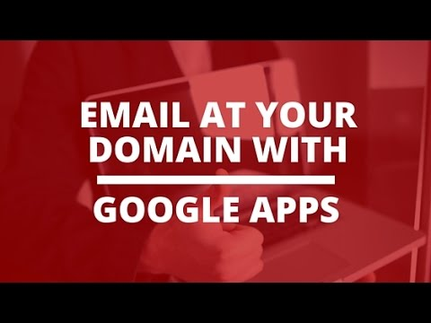 Setup Email At Your Domain Name With Google Apps