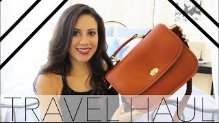 Travel Essentials Haul: European Excursion