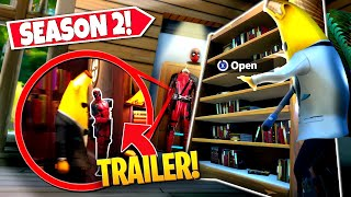 *NEW* FINDING ALL SEASON 2 TRAILER *EASTER EGGS* THAT ARE ACTUALLY IN-GAME! (Battle Royale)