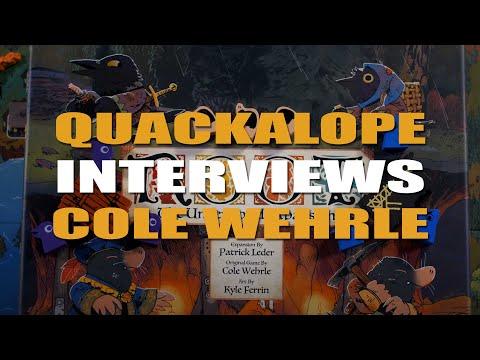 Quackalope Interviews - Cole Wehrle - Designer Of - Root, Oath, Pax Pamir, John Company