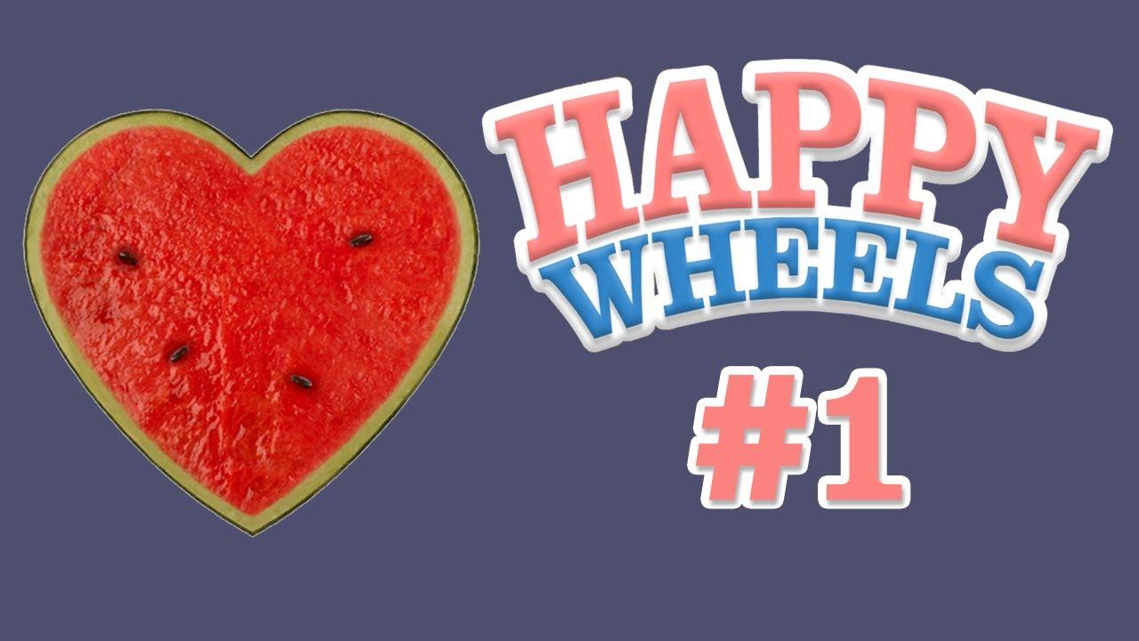 Watermelon Love Happy Wheels 1 Youtube