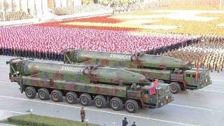 挑戰新聞軍事精華版--朝鮮大閱兵,改良洲際彈道導彈首亮相