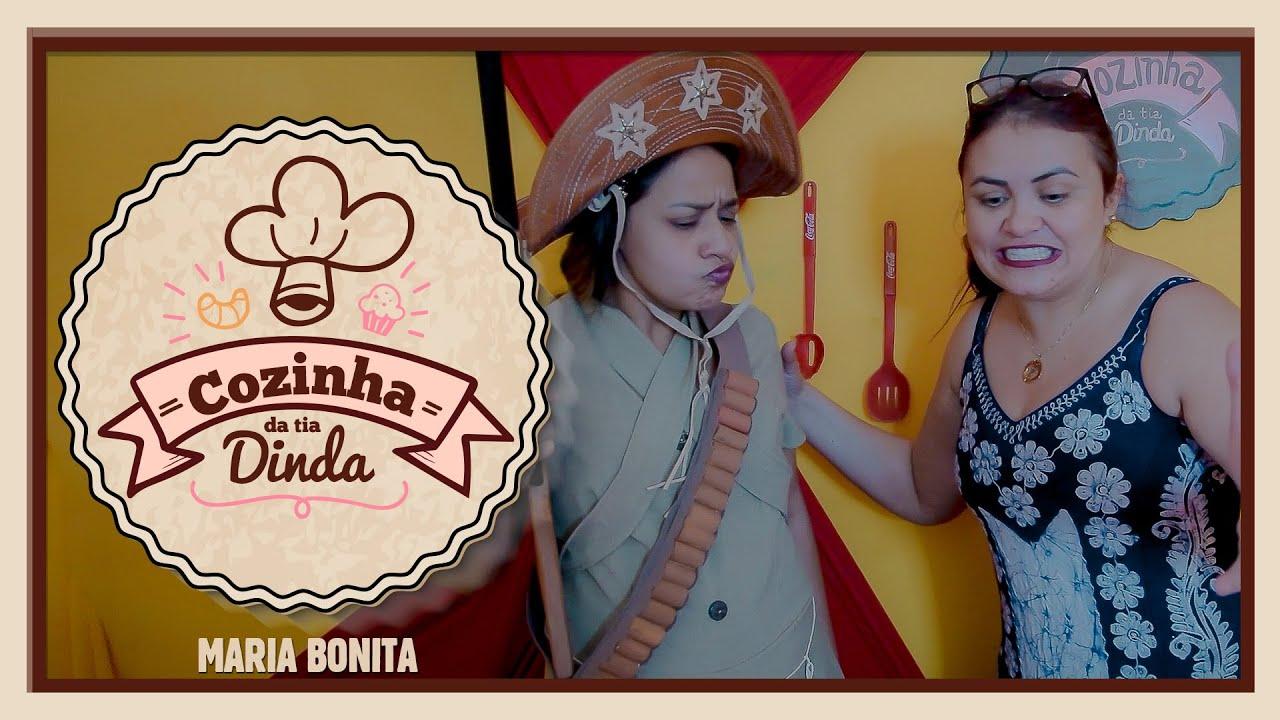 RECEITAS DA TIA DINDA - BAIÃO DE DOIS COM MARIA BONITA!