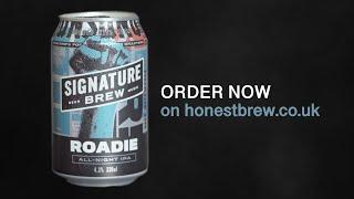 Roadie beer fake commercial