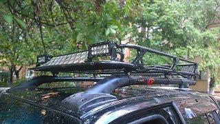 видео Экспедиционный багажник на крышу автомобиля