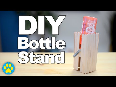 DIY Bottle Stand | #DIYJuly