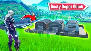 How to get *Dusty Depot* in Season 9! (Fortnite Glitch)