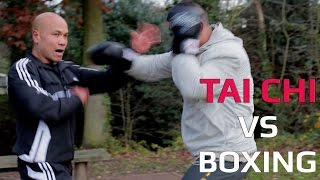 Tai Chi vs Boxing Tai Chi hand against boxing hand, who