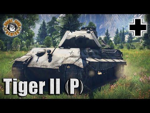 War Thunder: The Tiger II (P), German Tier-4, Heavy Tank