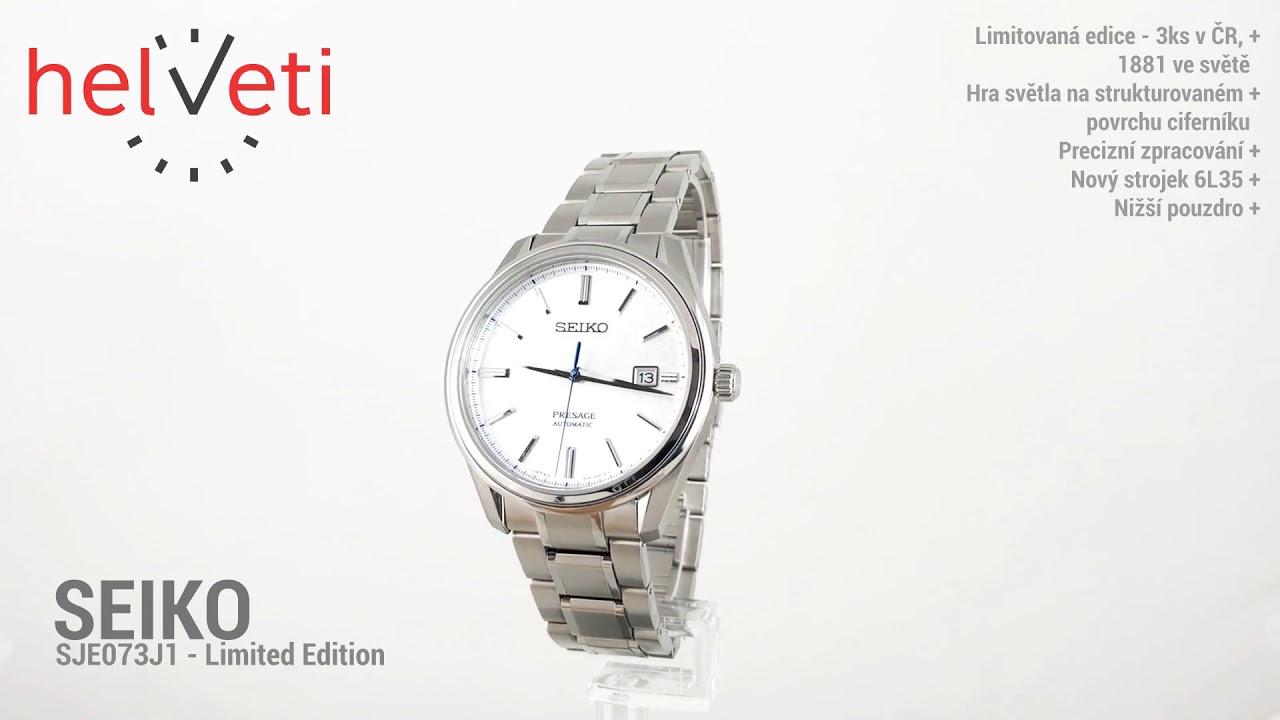 813181d30 Seiko SJE073J1 - Limited Edition - YouTube