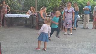 Праздник Ивана Купала на Козацкой заставе, Плавни, Южноукраинск. Детские потанцушки ;)