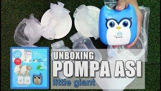 Unboxing Pompa Asi Elektrik Merk little giant | Mom and Baby
