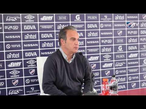 Conferencia de prensa de Martín Lasarte y Rodrigo Aguirre - 5/10/2017