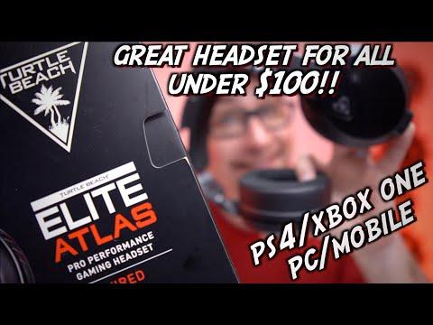 Turtle Beach Elite Atlas Gaming Headset Review, UNDER $100!!