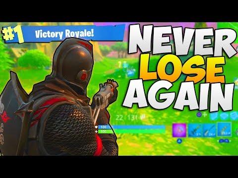 How To NEVER DIE AGAIN AGAIN in Fortnite - Tips & Tricks [Fortnite: Battle Royale] Gameplay