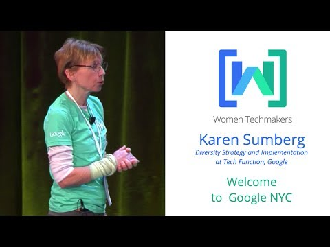 Women Techmakers Summit: NY - My Personal Story, and My Work at Google Research with Corinna Cortes