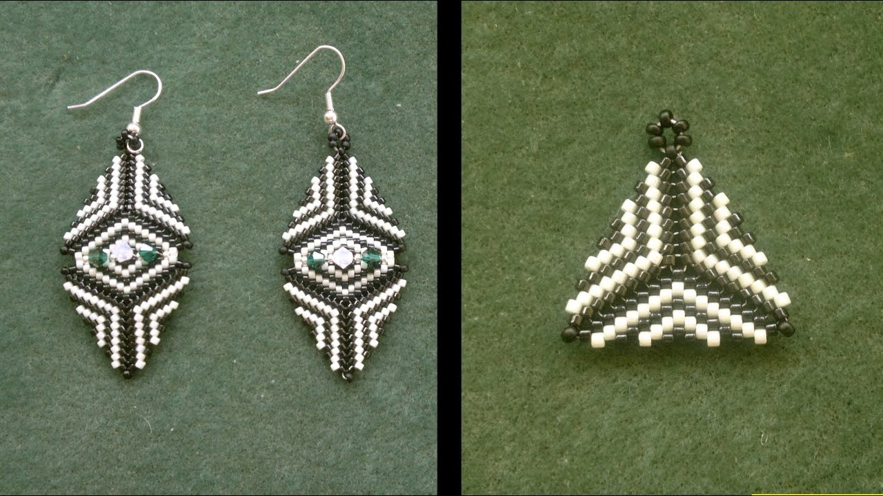 Beaded Earring Patterns For Beginners Custom Design Inspiration