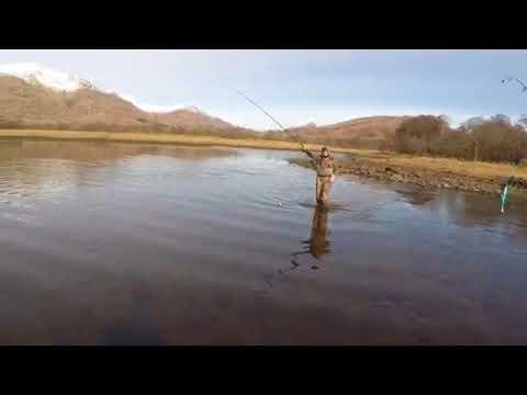 PIKE FISHING LOCH AWE