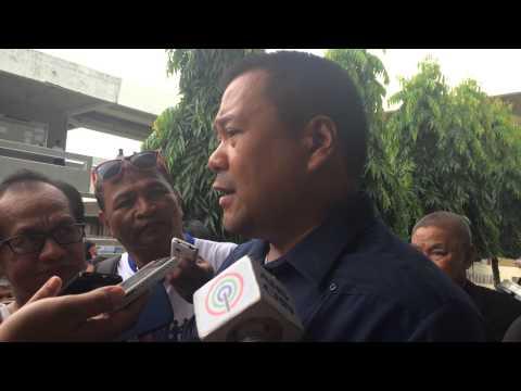 Senator JV Ejercito interview after Yolanda public hearing