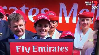 Jockey Michelle Payne First female winner of the Melbourne Cup - Winner
