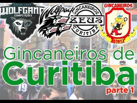 Curitiba Quase de Graça - Gincaneiros de Curitiba  - Parte 1