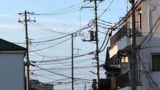 本日2014年3月21日、2011年東日本地震の年の元旦に見た地震雲と 同じ雲...