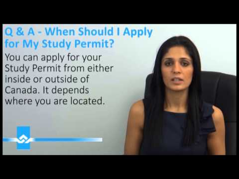 Apply for Canadian Study Permit (Student Visa ... - YouTube